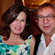 NLD/Amsterdam/20110910 - Modeshow Mart Visser najaar 2011, Liz Snoyink en Jon van Eerd