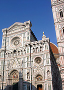 Florence Cathedral The Basilica di Santa Maria del Fiore is the cathedral church (Duomo) of Florence, Italy, begun in 1296 in the Gothic style to the design of Arnolfo di Cambio and completed structurally in 1436 with the dome engineered by Filippo Brunell