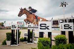 Cordon Pilar, ESP, Galine de Cour Zichelhof<br /> Knokke Hippique 2019<br /> © Hippo Foto - Sharon Vandeput<br /> 30/06/19