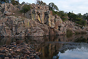 Wichita Mountains in southwest Oklahoma