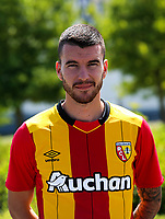 Ivan Lendric during photoshooting of RC Lens for new season 2017/2018 on October 5, 2017 in Lens, France<br /> Photo by RC Lens / Icon Sport