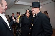 JOHNNIE SHAND KYDD; SERENA REES; PAUL SIMONON, The  launch of Johnnie Shand Kydd's book Siren City. ( Photographs of Naples) Claire<br /> de Rouen books published  by Other Criteria. Charing Cross Rd. London. 30 November 2009
