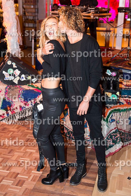 03.12.2015, Madrid, ESP, opening party, World big store of PULL & BEAR, im Bild Alexis Ren and Jay Alvarrez // during the opening party of the World big store of PULL & BEAR in Madrid, Spain on 2015/12/03. EXPA Pictures © 2015, PhotoCredit: EXPA/ Alterphotos/ BorjaB.hojas<br /> <br /> *****ATTENTION - OUT of ESP, SUI*****