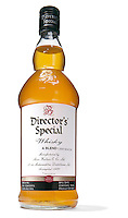 Director's Special Whisky on white background