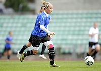Fotball<br /> Norge<br /> 04.05.2011<br /> Foto: Morten Olsen, Digitalsport<br /> <br /> Trening Norge A kvinner<br /> Nadderud Stadion<br /> Internkamp - Norge Blå mot Norge Hvit<br /> <br /> Leni Larsen Kaurin