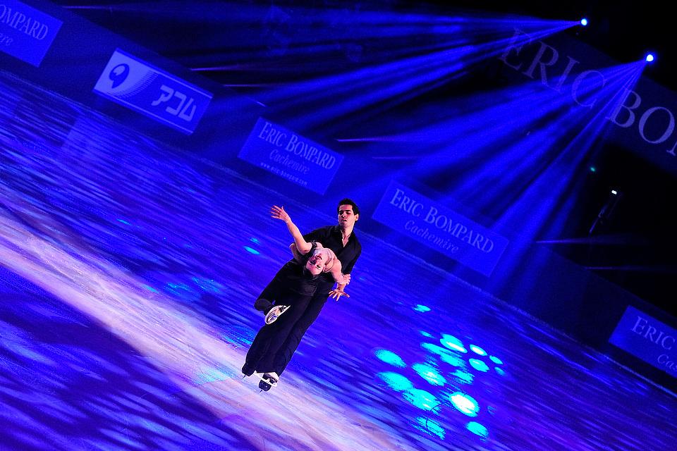 Gala du trophée de danse sur glace Eric Bompard 2012, le 18 Novembre 2012 au POPB.