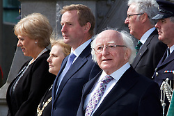 Press Release<br /><br />Department of Arts, Heritage and the Gaeltacht<br /><br /><br />State marks centenary of O&rsquo;Donovan Rossa funeral, First State commemoration to be held as part of the<br />Ireland 2016 Centenary Programme.<br /><br />President Michael D. Higgins will today (Saturday) lead the official State commemoration of the centenary of the funeral of Jeremiah O&rsquo;Donovan Rossa in Glasnevin Cemetery, Dublin.<br /><br />The event, which is being hosted by the Minister for Arts, Heritage and the Gaeltacht, Heather Humphreys TD, is the first formal State commemoration being held as part of the Ireland 2016 Centenary Programme.  <br /><br />An Taoiseach, Enda Kenny T.D. who will also attend, said, &ldquo;Jeremiah O&rsquo;Donovan Rossa was an iconic figure in Irish history.  Even one hundred years after his death his name is synonymous with the Fenians and with Irish Nationalism.  The liberation of his country became his life&rsquo;s ambition.  His funeral remains one of the pivotal moments in Irish history and was an occasion that would be hugely instrumental in shaping the future of our nation.&rdquo;<br /><br />Minister Humphreys added:<br />&ldquo;Today marks the official start of the ceremonial calendar in our Ireland 2016 Centenary Programme, which is leading up to the commemoration of the 1916 Rising in Easter of next year. The funeral of Jeremiah O&rsquo;Donovan Rossa, which took place here in Glasnevin Cemetery 100 years ago today, acted as a catalyst in the lead up to the Rising. The now famous graveside oration, given by P&aacute;draig Pearse, left a lasting impact and travelled far beyond the confines of this cemetery. <br /><br />&ldquo;Over the coming year, we will hold more than 40 State events as we commemorate the events of 1916, consider our achievements over the last 100 years, and look ambitiously to the future. The funeral of O&rsquo;Donovan Rossa was a milestone in Irish history and its impact on the mood and motivations of thos