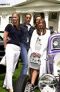 Yasmine LeBon, Melanie Blatt. The Louis Vuitton Clasic. Hurlingham Club, London. 2 June 2001. © Copyright Photograph by Dafydd Jones 66 Stockwell Park Rd. London SW9 0DA Tel 020 7733 0108 www.dafjones.com