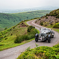Rob Jeurissen and Jeanne Jeurissen in their Bentley Derby Special   on the Royal Automobile Club 1000 Mile Trial 2015