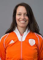 UTRECHT -Manager Claire Hendriks. Nederlands Jongens B. FOTO KOEN SUYK