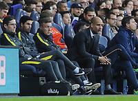 Football - 2016 / 2017 Premier League - Tottenham Hotspur vs Manchester City<br /> <br /> Manchester City Manager Pep Guardiola  and assistant coach Mikel Arteta at White Hart Lane<br /> <br /> Credit : Colorsport / Andrew Cowie