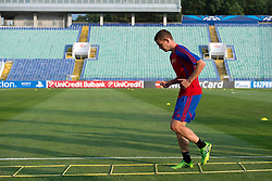 20.08.2013, Sofia, BUL, UEFA CL Play off, FC Basel, Training, im Bild, Fabian Frei // during the UEFA Champions League Trainings Match of FC Basel in Sofia, Bulgaria on 2013/08/20. EXPA Pictures © 2013, PhotoCredit: EXPA/ Freshfocus/ Andy Mueller<br /> <br /> ***** ATTENTION - for AUT, SLO, CRO, SRB, BIH only *****