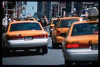 taxirush, new york usa may 2000
