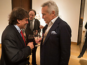 JONATHAN GLANCY; STEPHEN BAYLEY, Launch of 'Taste: The Secret Meaning of Things' by Stephen Bayley, Christies. King St. 16 October 2017