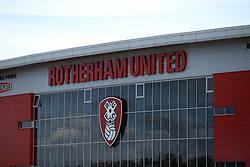 UK ENGLAND ROTHERHAM 28AUG14 - Rotherham United stadium in the town of Rotherham, epicentre of the largest child sex abuse scandal in Britain.<br /> <br /> An August 2014 report found that around 1,400 children had been sexually exploited in the town between 1997 and 2013, mainly by British-Pakistani men.<br /> <br /> jre/Photo by Jiri Rezac<br /> <br /> &Acirc;&copy; Jiri Rezac 2014