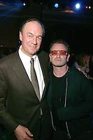 Nick Stewart and Bono