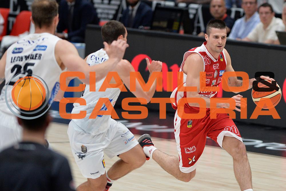 Cinciarini Andrea<br /> Olimpia EA7 Emporio Armani Milano vs Dolomiti Energia Trentino<br /> Lega Basket Serie A 2016/2017<br /> PlayOff semifinale gara 2<br /> Milano 27/05/2017<br /> Foto Ciamillo-Castoria / I.Mancini