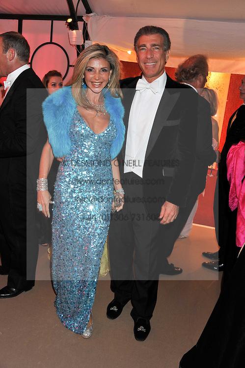 LISA TCHENGUIZ and STEVE VORSARI at the Raisa Gorbachev Foundation Gala held at the Stud House, Hampton Court, Surrey on 22nd September 22 2011