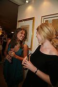 Gaby Saunders and Clementine Desmons, New Collectors Evening. Grosvenor House Antiques Fair. Park Lane. 19 June 2007.  -DO NOT ARCHIVE-© Copyright Photograph by Dafydd Jones. 248 Clapham Rd. London SW9 0PZ. Tel 0207 820 0771. www.dafjones.com.