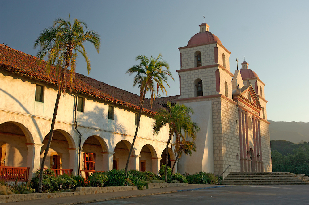 Old Santa Barbara Mission, Santa Barbara, California, United States of America