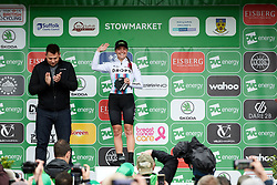 Abby-Mae Parkinson (GBR) wins the combativity prize during Stage 1 of 2019 OVO Women's Tour, a 157.6 km road race from Beccles to Stowmarket, United Kingdom on June 10, 2019. Photo by Sean Robinson/velofocus.com