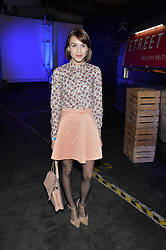 Monday 18th November 2013 saw a host of London hipsters, social faces and celebrities, gather together for the much-anticipated World Premiere of the brand new MINI.<br /> Attendees were among the very first in the world to see and experience the new MINI, exclusively revealed to guests during the party. Taking place in the iconic London venue of the Old Sorting Office, 21-31 New Oxford Street, London guests enjoyed a DJ set from Little Dragon, before enjoying an exciting live performance from British band Fenech-Soler.<br /> Picture Shows:-ELLA CATLIFF