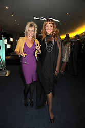 Left to right, JO WOOD and JERRY HALL at the GQ Men of the Year Awards held at the Royal Opera House, London on 2nd September 2008.<br /> <br /> NON EXCLUSIVE - WORLD RIGHTS