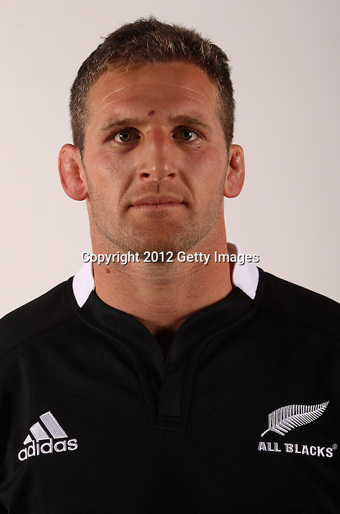 AUCKLAND, NEW ZEALAND - JUNE 03: Kieran Read of the All Blacks during the New Zealand All Blacks headshot session at the Heritage Hotel on June 3, 2012 in Auckland, New Zealand.  (Photo by Phil Walter/Getty Images for NZRU)