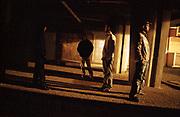 FRANCE. Suburb of Blois. 2005. Teenagers. <br /> Loir et Cher department.