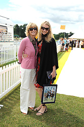 Left to right, WENDY KIDD and her daughter JODIE KIDD at the 2008 Veuve Clicquot Gold Cup polo final at Cowdray Park Polo Club, Midhurst, West Sussex on 20th July 2008.<br /> <br /> NON EXCLUSIVE - WORLD RIGHTS