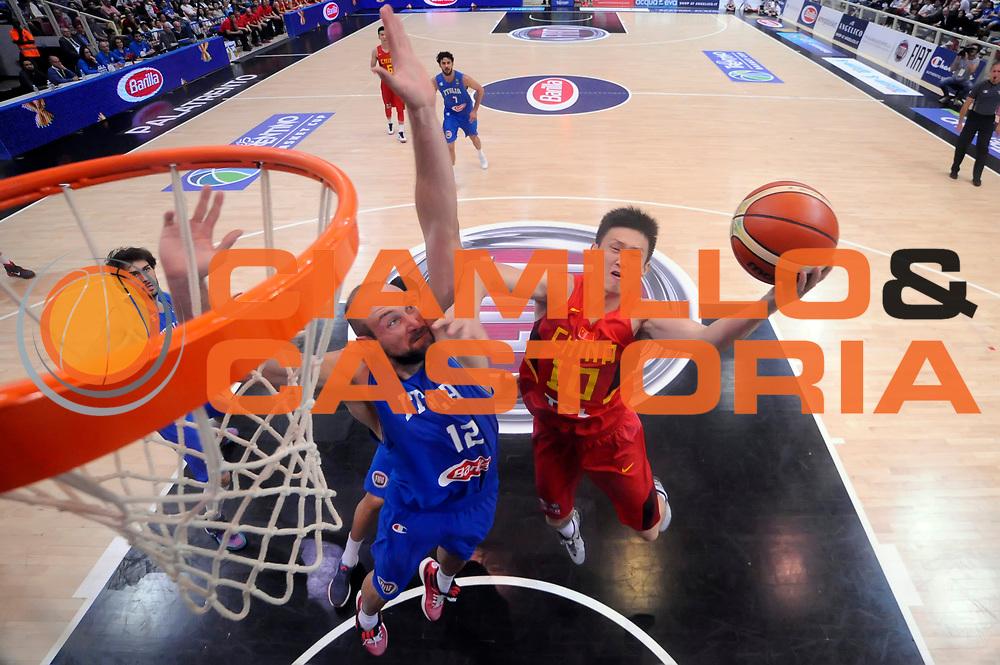 DESCRIZIONE : Trento Nazionale Italia Uomini Trentino Basket Cup Italia Cina Italy China<br /> GIOCATORE : <br /> CATEGORIA : special tiro<br /> SQUADRA : Cina China<br /> EVENTO : Trentino Basket Cup<br /> GARA : Trentino Basket Cup Italia Cina Italy China<br /> DATA : 18/06/2016<br /> SPORT : Pallacanestro<br /> AUTORE : Agenzia Ciamillo-Castoria/Max.Ceretti<br /> Galleria : FIP Nazionali 2016<br /> Fotonotizia : Trento Nazionale Italia Uomini Trentino Basket Cup Italia Cina Italy China