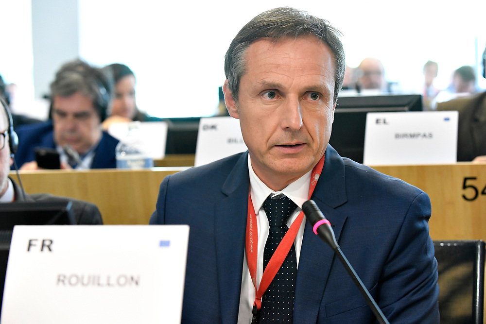 11 May 2017, PES Group meeting<br /> Belgium - Brussels - May 2017 <br /> ROUILLON	Christophe<br /> &copy; European Union / Photographer