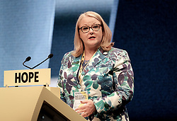 SNP Spring Conference, Sunday 28th April 2019<br /> <br /> Pictured: Christina McKelvie MSP<br /> <br /> Alex Todd | Edinburgh Elite media