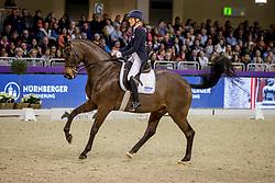 KLIMKE Ingrid (GER), Bluetooth OLD<br /> Frankfurt - Festhallen Reitturnier 2019<br /> Louisdor-Preis – Finale 2019<br /> Nat. Nachwuchspferde Grand Prix (FN) für 8-10 jährige Pferde – Finale<br /> 22. Dezember 2019<br /> © www.sportfotos-lafrentz.de/Stefan Lafrentz
