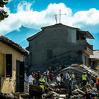 The August 24, 2016 an earthquake with normal kinematics of Mw 6.0 has hit central Italy, causing nearly 300 deaths and very serious damage to many historic towns.<br /> Since the beginning of the sequence, the National Seismic Network (INGV) has located more than 5000 events.