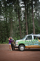 Photo of Ethan and Wendy Barrow of Adventures Across Oregon.
