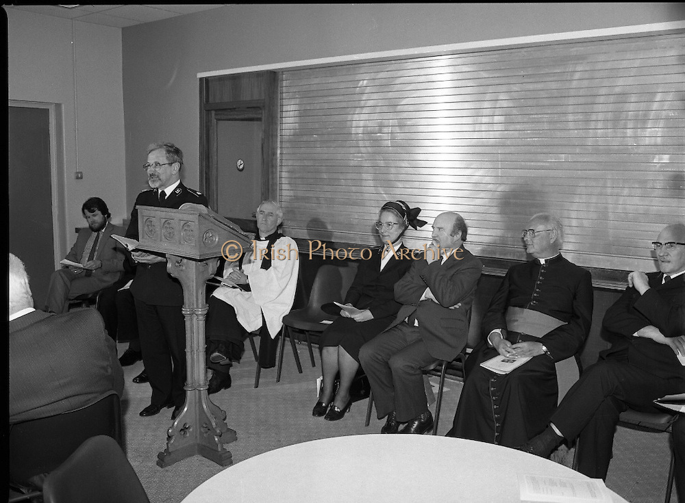 Synod Church of Ireland opens, RDS, Dublin, <br /> 22nd May 1984