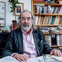 Nederland, Amsterdam, 9 juni 2017.<br />Ulli d&rsquo;oliveira is een Nederlands jurist en letterkundige<br /><br /><br /><br />Foto: Jean-Pierre Jans