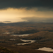 Enard bay to Stoer from Stac Pollaidh, Sutherland