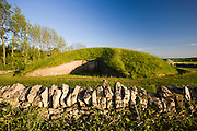 Belas Knap Long Barrow ancient monument near Winchcombe, Gloucestershire, UK