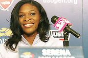 Serena Williams at The 2008 Arthur Ashe Kids' Day held at The USTA Bille Jean King National Tennis Center on August 23, 2008 in Flushing, NY