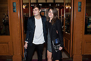 Douglas Booth; Sian Sidaway , Press night of Cirque du Soleil's new show 'Totem' at The Royal Albert Hall.  London. January 5, 2011<br /> <br /> -DO NOT ARCHIVE-© Copyright Photograph by Dafydd Jones. 248 Clapham Rd. London SW9 0PZ. Tel 0207 820 0771. www.dafjones.com.