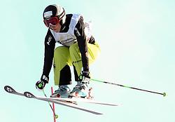 29.01.2011, Grasgehren Lifte, Grasgehren, GER, FIS Skicross World Cup, Grasgehren, im Bild Heidi ZACHER (GER) // Heidi ZACHER (GER) during FIS Skicross World Cup in Grasgehren, Germany, EXPA Pictures © 2011, PhotoCredit: EXPA/ S. Kiesewetter