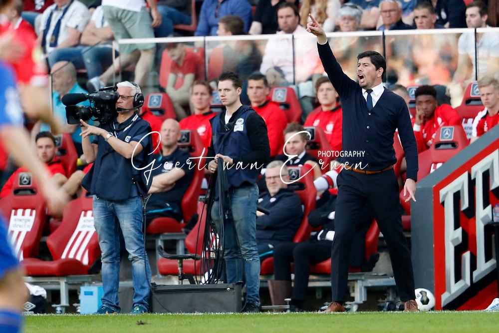 09-04-2017 VOETBAL:PSV-WILLEM II:EINDHOVEN<br /> Trainer/Coach Erwin van de Looi van Willem II <br /> <br /> Foto: Geert van Erven
