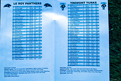 20 September 2019: Tremont Turks at Le Roy Panthers football, Le Roy Illinois