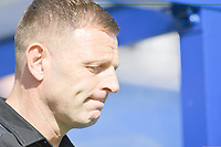 Football - 2019 / 2020 Sky Bet (EFL) Championship - Queens Park Rangers vs. Luton Town<br /> <br /> Luton Town manager Graeme Jones, at Kiyan Prince Foundation Stadium (Loftus Road).<br /> <br /> COLORSPORT/ASHLEY WESTERN