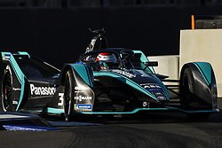 October 17, 2018 - Valencia, Spain - 03 PIQUET JR Nelson (bra), Panasonic Jaguar Racing Team during the Formula E official pre-season test at Circuit Ricardo Tormo in Valencia on October 16, 17, 18 and 19, 2018. (Credit Image: © Xavier Bonilla/NurPhoto via ZUMA Press)