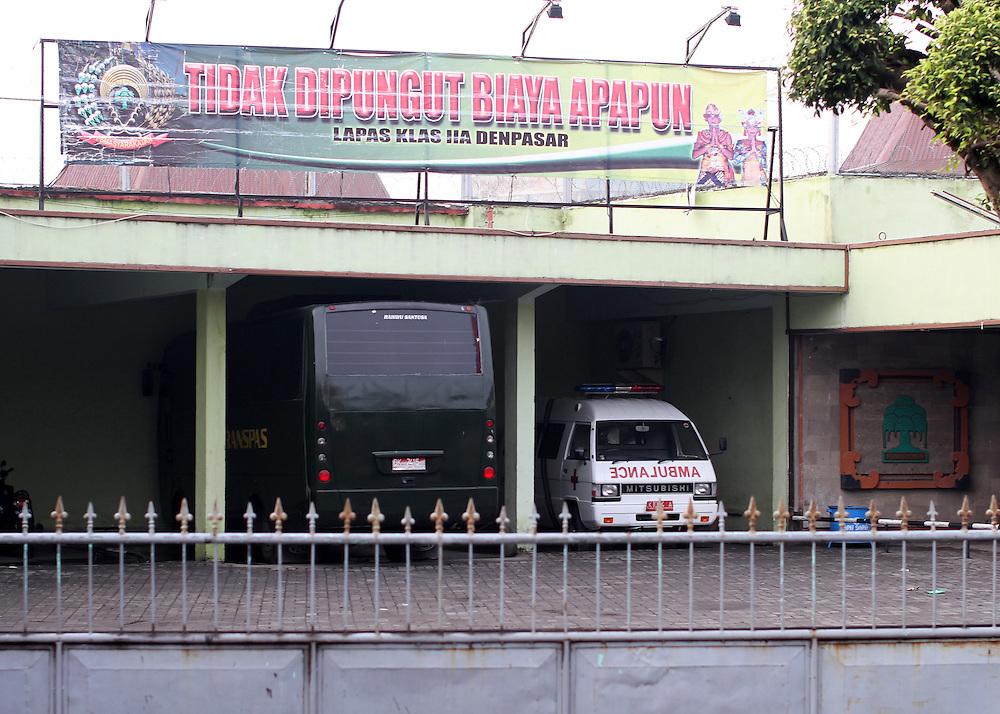 Bali's Kerobokan Prison, Indonesia, Thursday, November 10, 2011. Credit: SNPA / Peter Graney