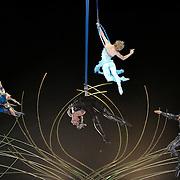 15.01.2016 Cirque Du Soleil performing AMALUNA at The Royal Albert Hall London UK Grande finale