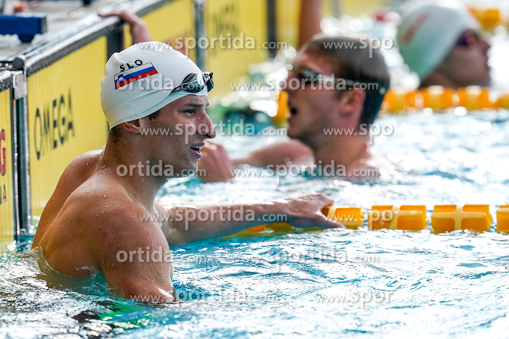 "Martin Bau of Slovenia and Marcel Primozic of Slovenia during 43rd International Swimming meeting ""Telekom 2019"", on July 13, 2019 in Radovljica, Slovenia. Photo by Matic Klansek Velej / Sportida"